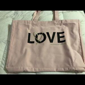 Large Victoria secret tote bag